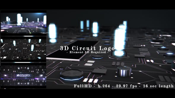 Thumbnail for 3D Circuit Intro