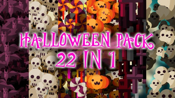 Thumbnail for Halloween Transition Pack 22 in 1