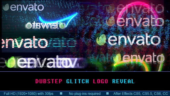 Thumbnail for Dubstep Glitch Logo Reveal