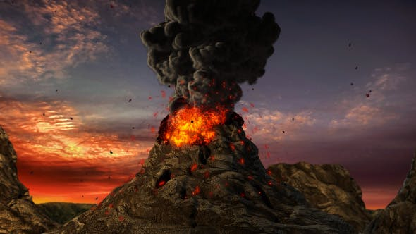 Thumbnail for Volcano Eruption