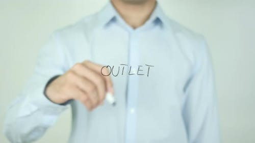 Outlet, Writing On Screen