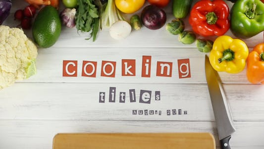 Thumbnail for Cooking Titles