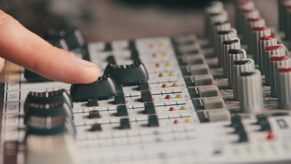 Thumbnail for Working With Sound Mixing Console