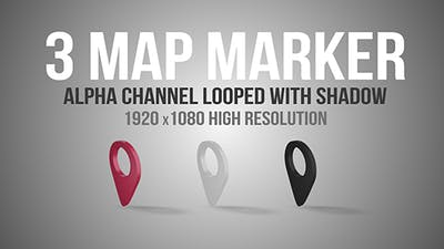 Map Markers Looped