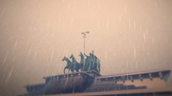 3D Brandenburg Gate - Berlin