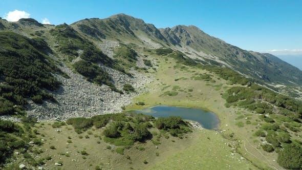 Thumbnail for Aerial footage of Bulgaria Majestic Pirin Mountain 4