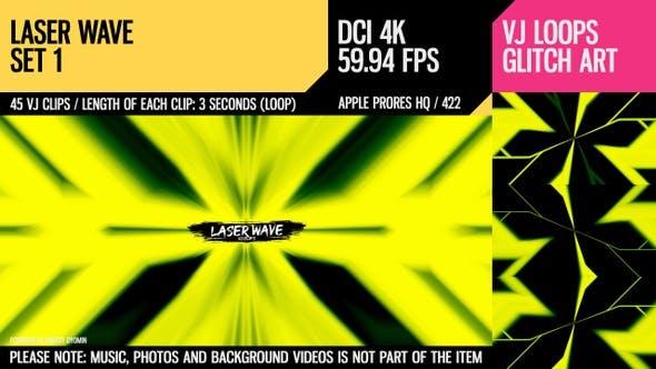 Thumbnail for Laser Wave (4K Set 1)