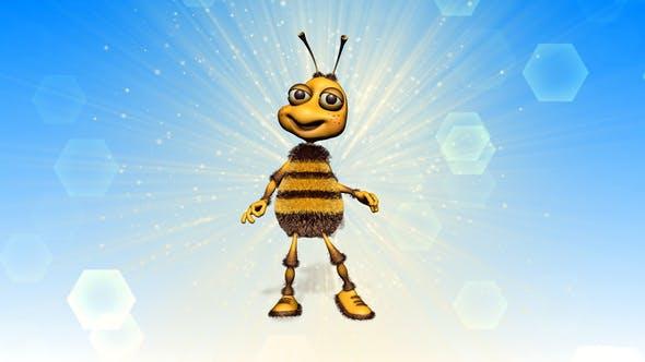 Thumbnail for Happy Bee Logo Reveal