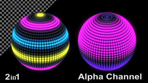 LED Disco Ball (2-Pack)