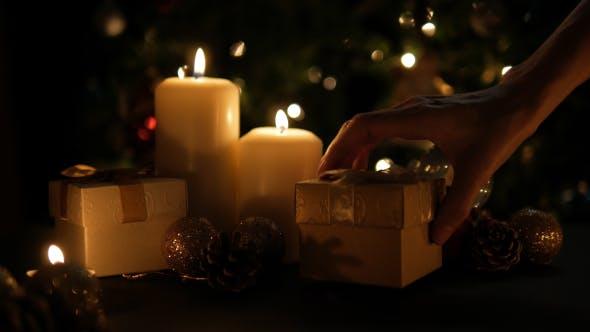 Thumbnail for Putting Christmas Gift Box