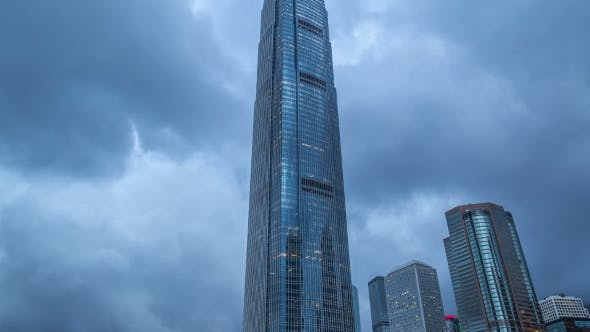 Thumbnail for International Finance Center Tower Facade In Hong Kong.   - August 2016, Hong Kong