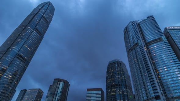 Thumbnail for International Finance Center Tower In Hong Kong.   - August 2016, Hong Kong