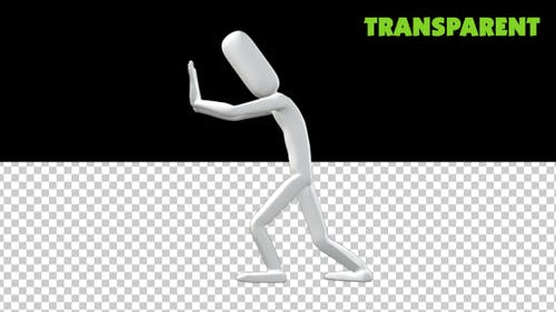 PoseMan Push-Animation
