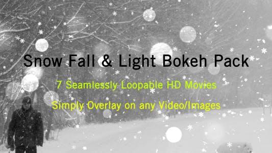 Thumbnail for Snow and Light Bokeh
