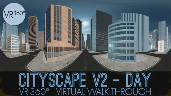 Thumbnail for VR-360° Stadtbild V2 Tag