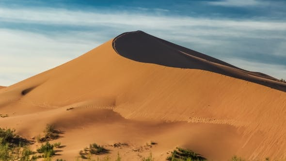 Thumbnail for The Top Of The Dune Hill In Desert Altyn-Emel, Kazakhstan
