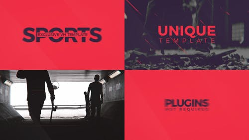 Sport Template For Promo