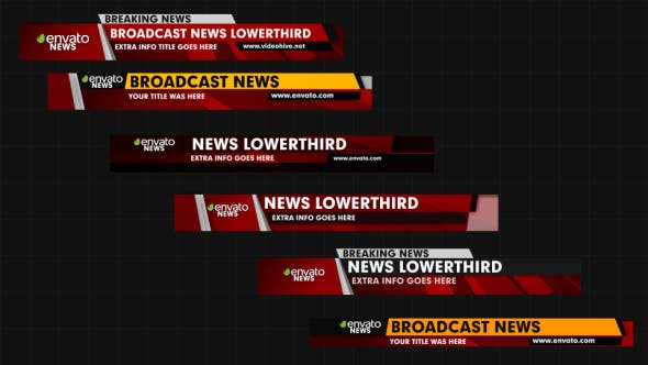 Cover Image for News Lower Thirds