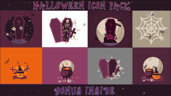 Thumbnail for Halloween Icon Pack