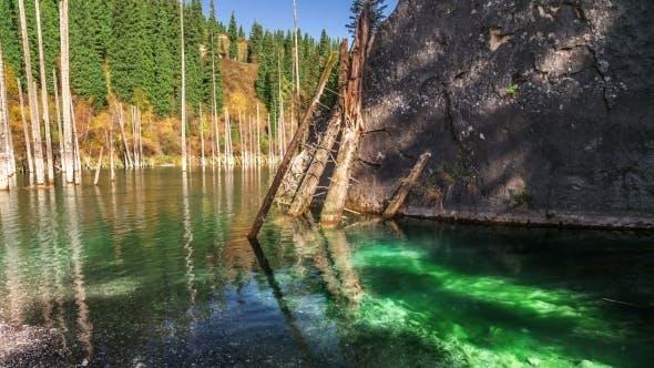 Thumbnail for Lake Kaindy In Tyan-Shan Mountains, Kazakhstan