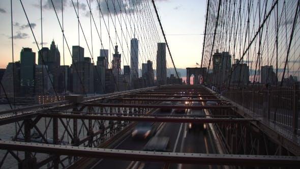 Thumbnail for Manhattan Skyline From Brooklyn Bridge