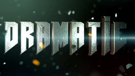 Thumbnail for Cinematic Title 2
