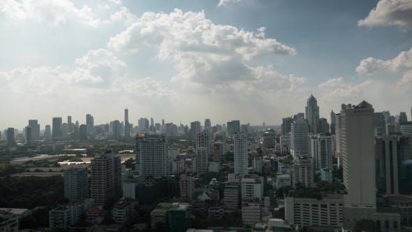 Thumbnail for Clouds Sailing Over Bangkok, Thailand