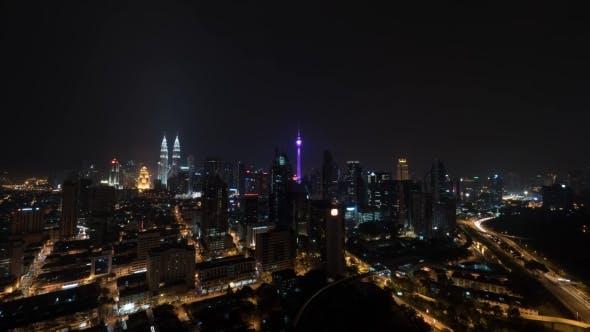 Thumbnail for Night Illuminated Kuala Lumpur