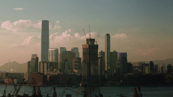 Thumbnail for Of Day And Night In Hong Kong, Waterside View