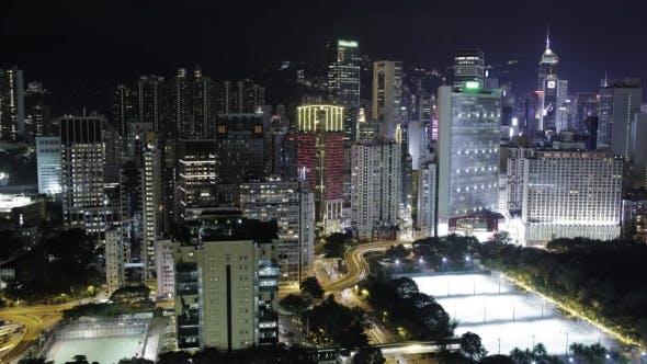 Of Night Life In Hong Kong