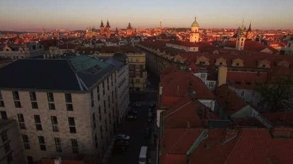 Thumbnail for Prague And Its Old Town, Aerial View