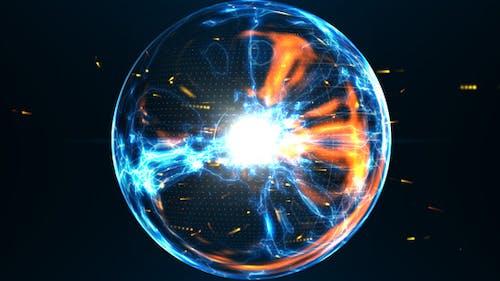 Power Orb Logo Reveal