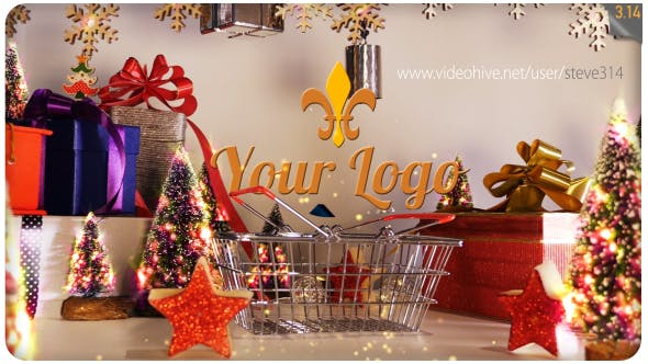 Thumbnail for Weihnachts-Einkaufs-Logo