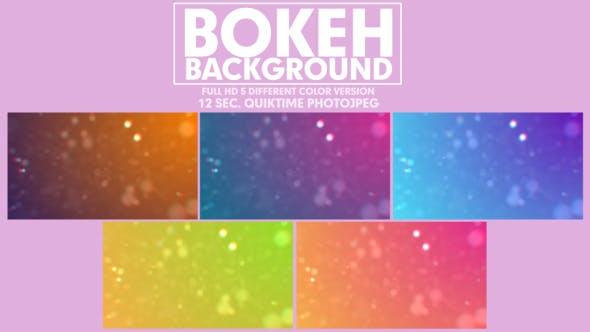 Serenity Bokeh Background