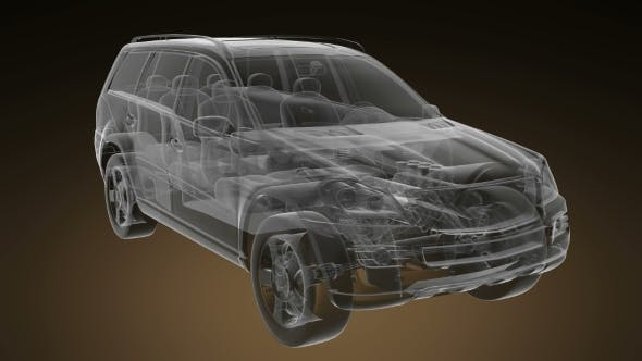 Thumbnail for Transparentes Auto Drehen