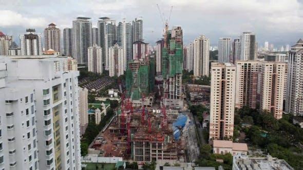 Thumbnail for Construction Works in Kuala Lumpur, Malaysia