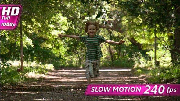 Thumbnail for Child Joyfully Run To Meet