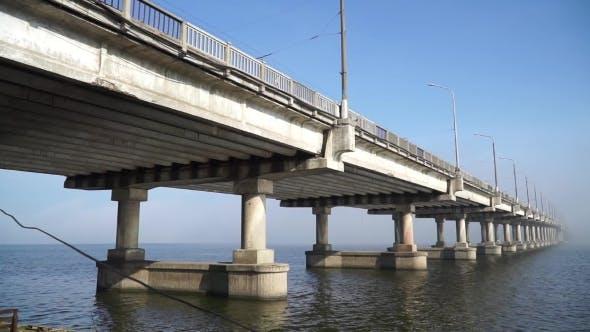 Thumbnail for Panoramablick auf die Brücke über den Fluss