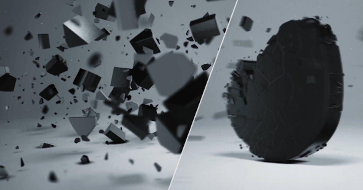 Download Elegant 3D Shatter Logo by NeuronFX