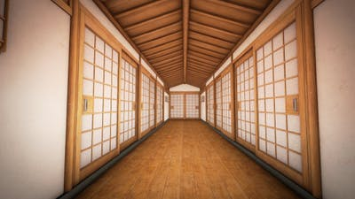 Japan Traditional House Architecture
