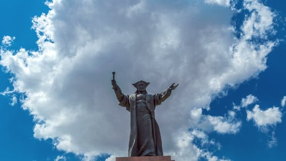 Cover Image for National Monument Baidibek In Shymkent, Kazakhstan