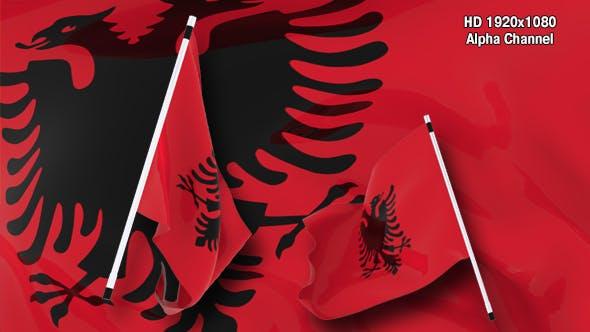 Thumbnail for Flag Transition - Albania