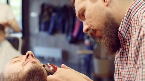 The Barber With The Beard Makes The Cut Men, The Head And Beard Barbershop