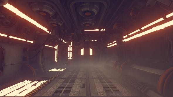 Thumbnail for Sci-Fi Corridor