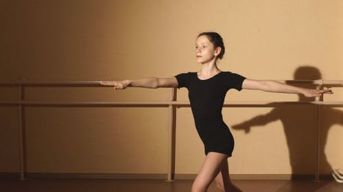 The Dancer Performs a Pirouette