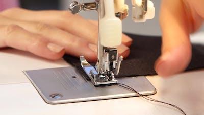 Sew Stitch on the Sewing Machine.