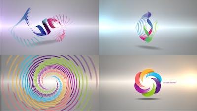 Clean Radial Logo Reveal Pack