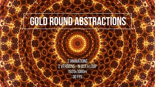 Thumbnail for Gold Round Abstractions