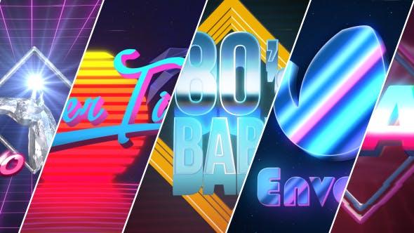 Thumbnail for 80's Baby | VHS Logo-Titles Opener