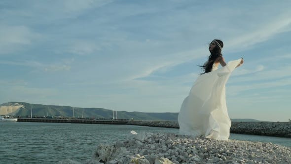 Thumbnail for The Bride In Beautiful Dress